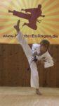 Karate-Kids sind auch in den Ferien fleißig