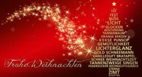 Geschäftsstelle SV 1845 wünscht Frohe Weihnachten!