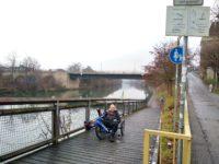 Keine Schieberei auf dem Neckartalradweg