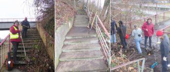 Treppe reparieren ist günstiger als abreißen