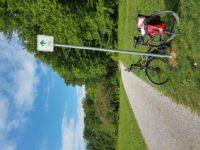 Mit dem Fahrrad in die Region