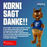 """""""Korni macht Sport"""" von der KSK ausgezeichnet"""