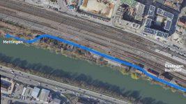 Platz für alle entlang des Neckarufers!