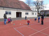Osterüberraschung auf dem Hegensberger Sportplatz