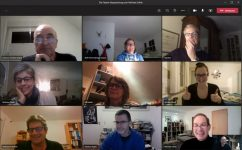 TCE-Vorstand arbeitet online