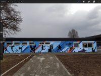 "SV 1845-Projekt ""Sportliches Graffiti"""