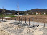 Fortschritte Baustelle Sportpark