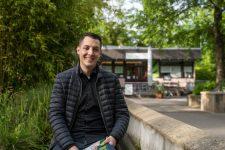 Daniel Töpfer im: Numphaea, Komma, Sportpark Weil
