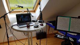Jugendorchester: Proben in Corona-Zeiten # Nachruf