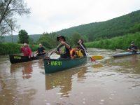Mit dem Kanu in Unterfranken