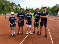 Jugendmannschaften des TCE steigen auf