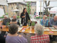 Argyri Paraschaki bei der AG 60 plus in Esslingen