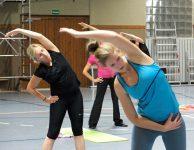 Fitness für Frauen im Herbst