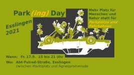 Parking Day am 17.9. – aus Parkraum wird Park Raum