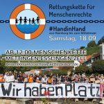 Rettungskette am 18.09.21 auch in Oberesslingen