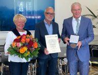 Hohe Auszeichnung – Zürn erhält Bürgermedaille